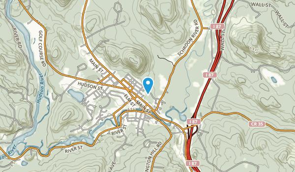 Hackensack Mountain Park Map