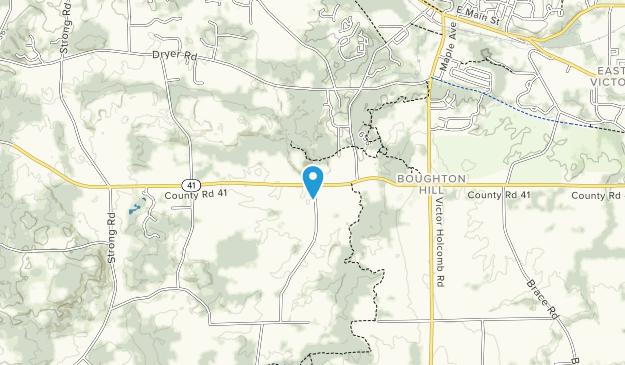 Ganondagan State Historic Site Map
