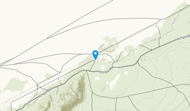Black Rock Desert - High Rock Canyon Emigrant Trails National Conservation Area Map