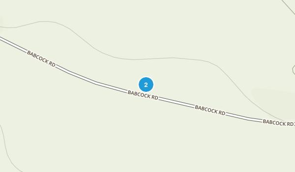 Babcock Ridge Preserve Map