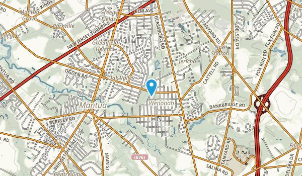Wenonah Map