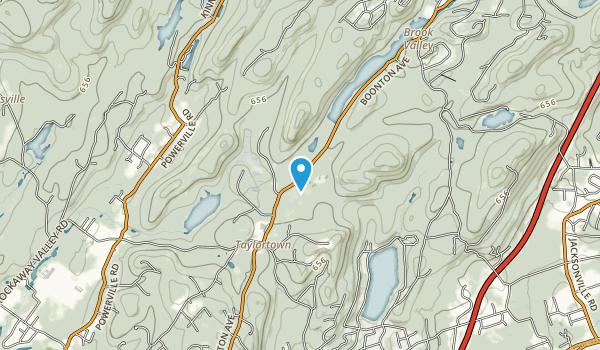 Taylortown Reservoir Map