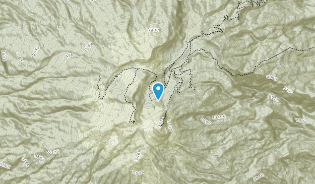 Parque Nacional Volcán Nevado de Colima  Map