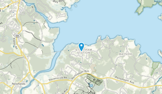Great Bay National Estuarine Research Reserve Map