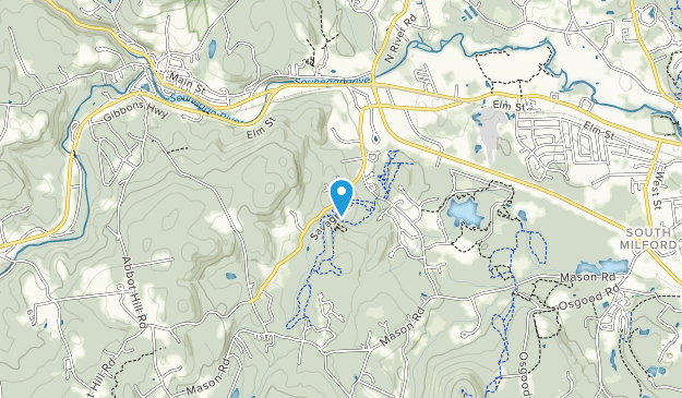 Tucker Brook Town Forest Map