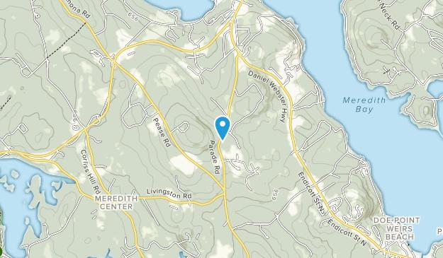 Waukewan Highlands Community Park Map