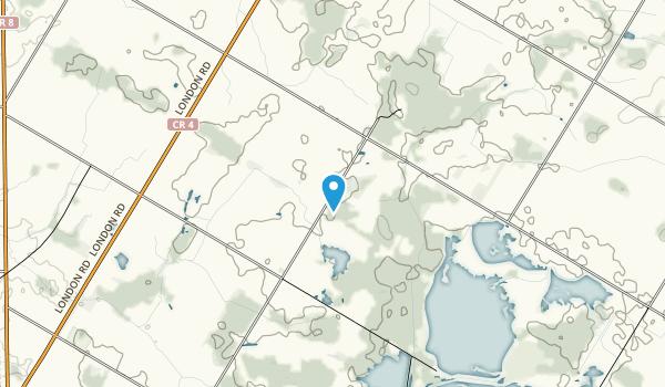 Hullett Provincial Wildlife Area Map