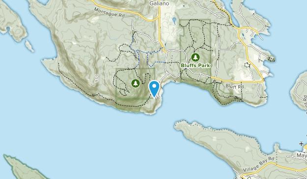 Collinson Point Provincial Park Map