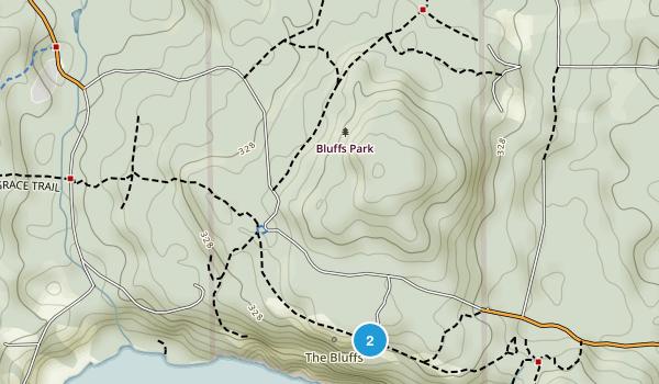 Bluffs Park Map