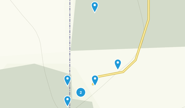 Thunderhill Recreational Area Map