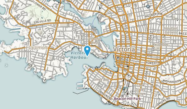 Mary Street Park Map