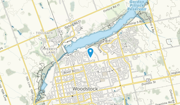 Pittock Conservation Area Map