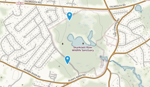 Skunkett River Wildlife Sanctuary Map