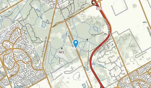 NCC greenbelt Map
