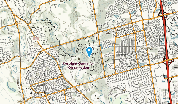 Kortright Centre for Conservation Map