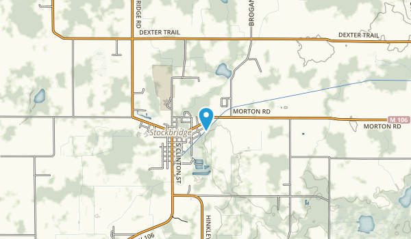 Beckwith Nature Preserve Map