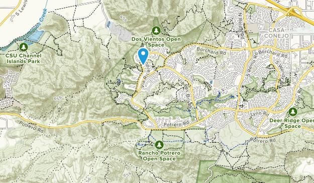 Dos Vientos Open Space Map