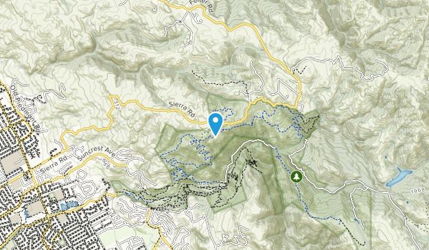 Sierra Vista Open Space Preserve Map