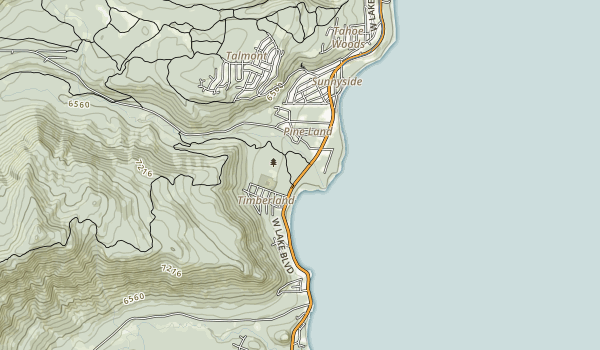 Ward Creek Park Map
