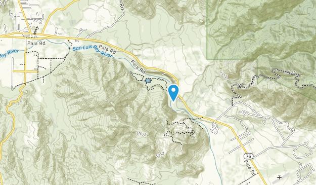 Wilderness Gardens County Preserve Map