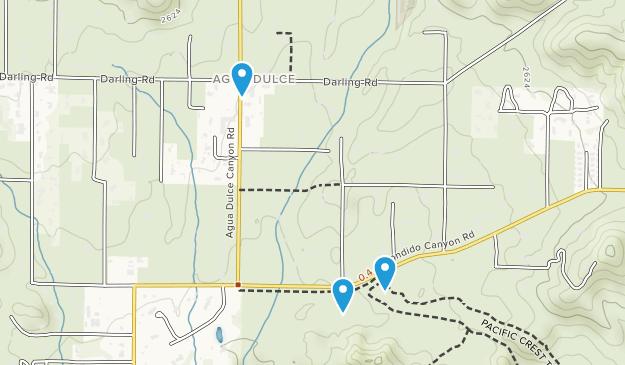 Vasquez Rocks Natural Area Park Map