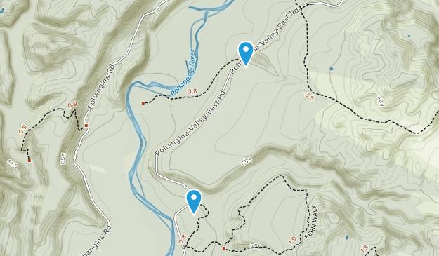 Totara Reserve Regional Park Map