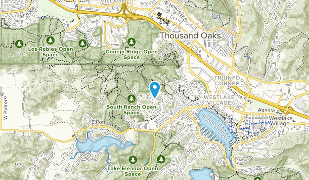 South Ridge Open Space Map