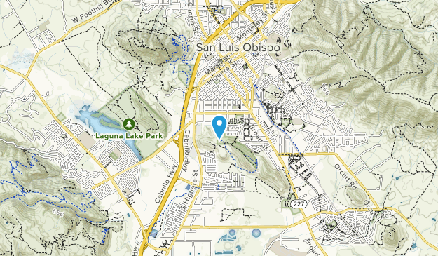 South Hills Open Space Map