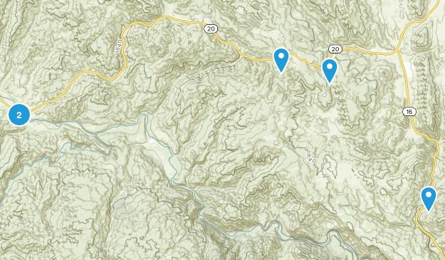 Cache Creek Wilderness Map