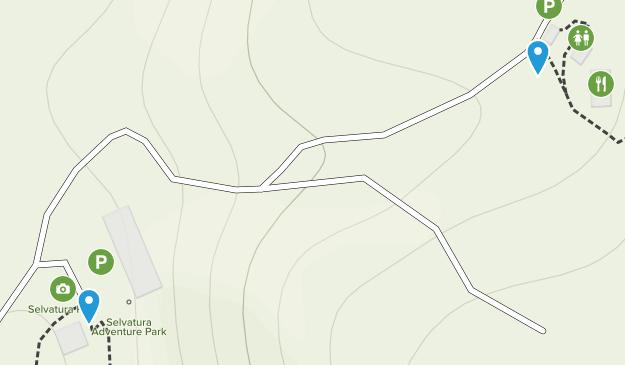 Reserva Bosque Nuboso Santa Elena Map