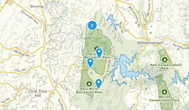 Para Wirra Recreation Park Map