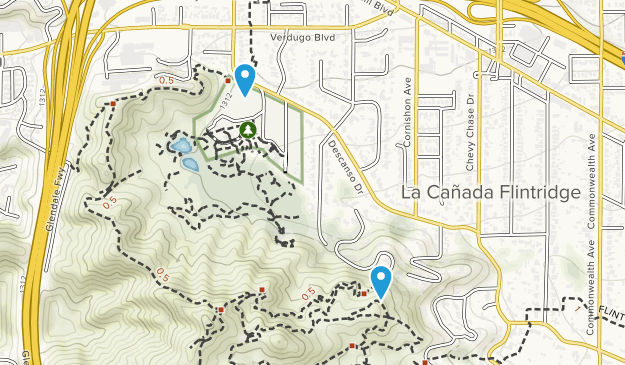 Cherry Canyon Park Map