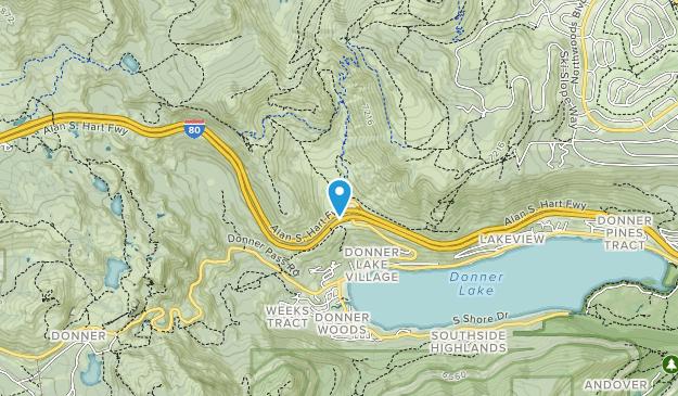 Johnson Canyon Map