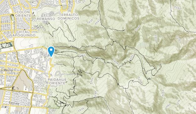 Parque Cordillera Map