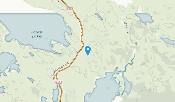 Nopiming Provincial Park Map