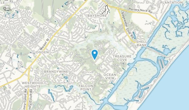 Pages Creek Park Preserve Map