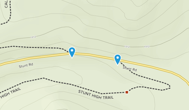 Stunt Ranch Santa Monica Mountains Reserve Map