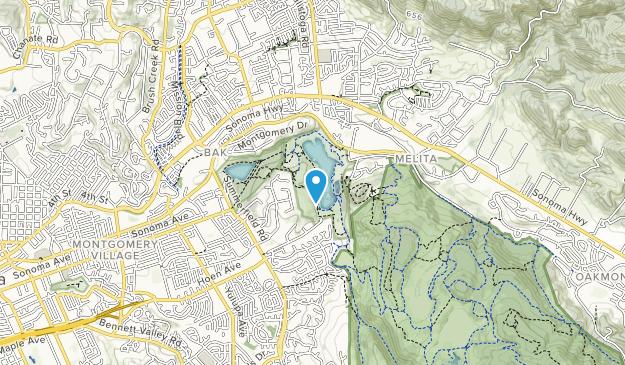Spring Lake Regional Park Map