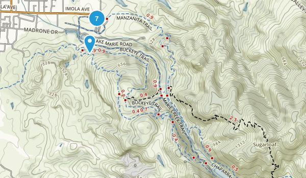 Skyline Wilderness Park Map