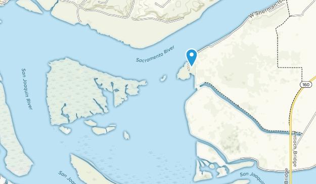 Lower Sherman Island Wildlife Area Map