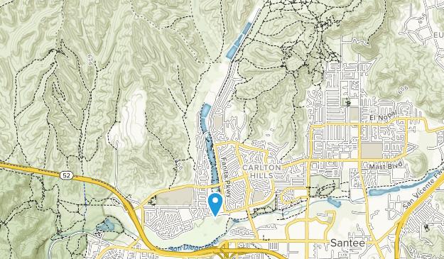 Santee Lakes Recreation Preserve Map