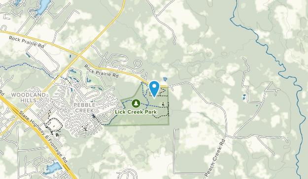 Iron Creek Park Map