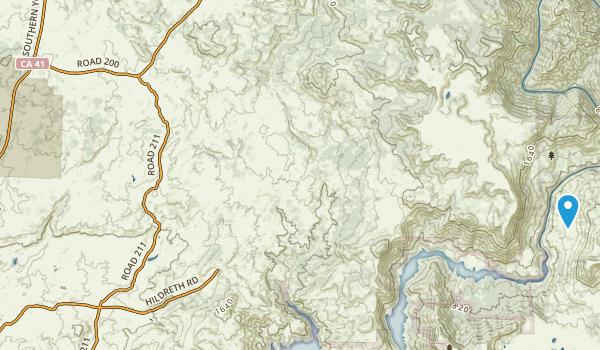 San Joaquin Experimental Range Map