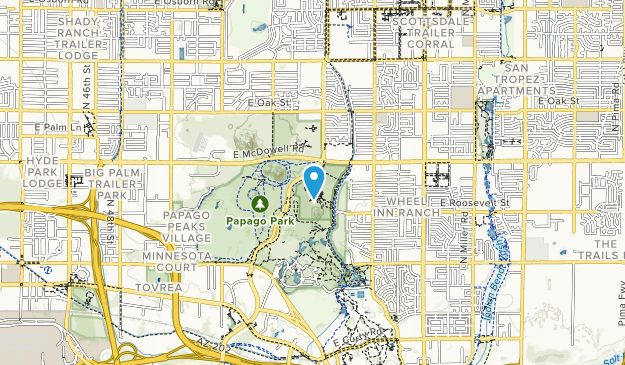 Desert Botanical Garden Map