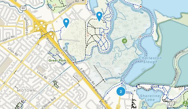 Baylands Nature Preserve Map