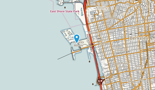 McLaughlin Eastshore State Park Map