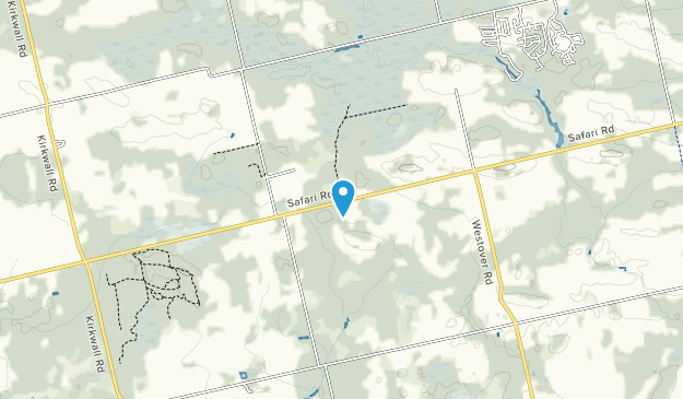 Beverly Swamp Conservation Area Map