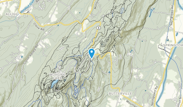 Mohonk Mountain House Property Map
