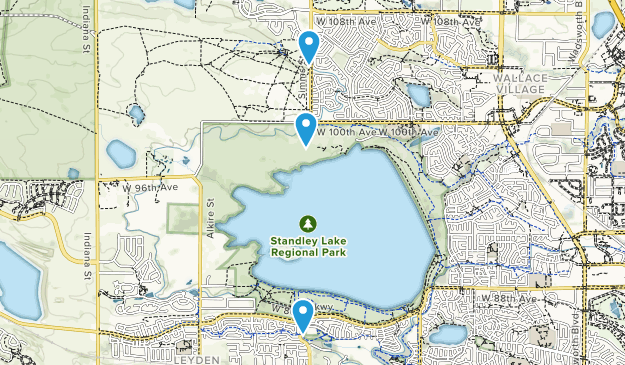 Standley Lake Regional Park Map