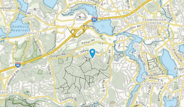Cowassock Woods Map